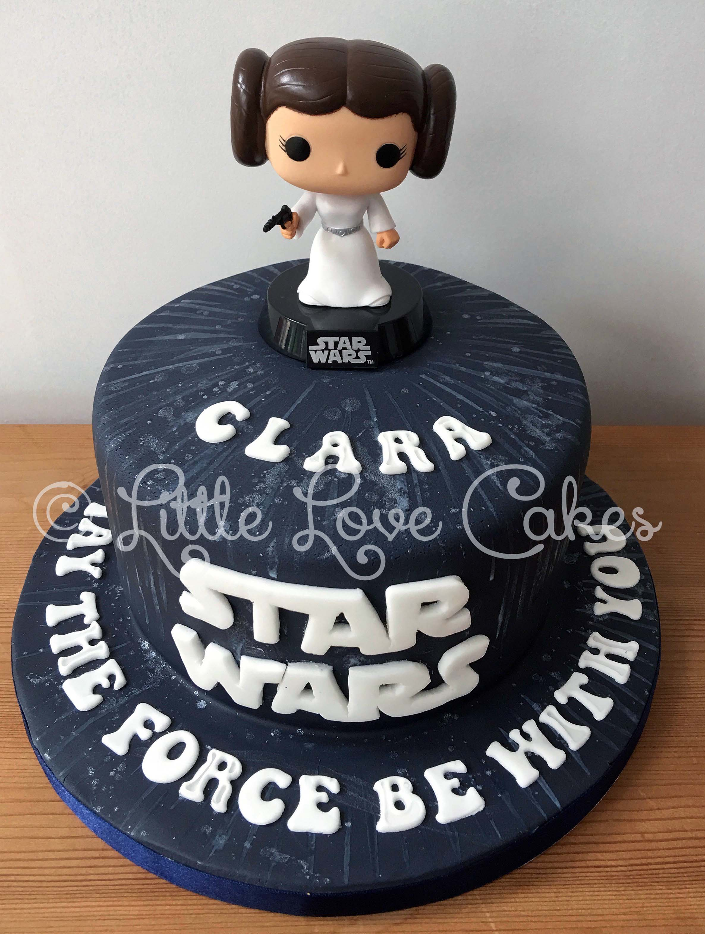 Star Wars Princess Leia cake