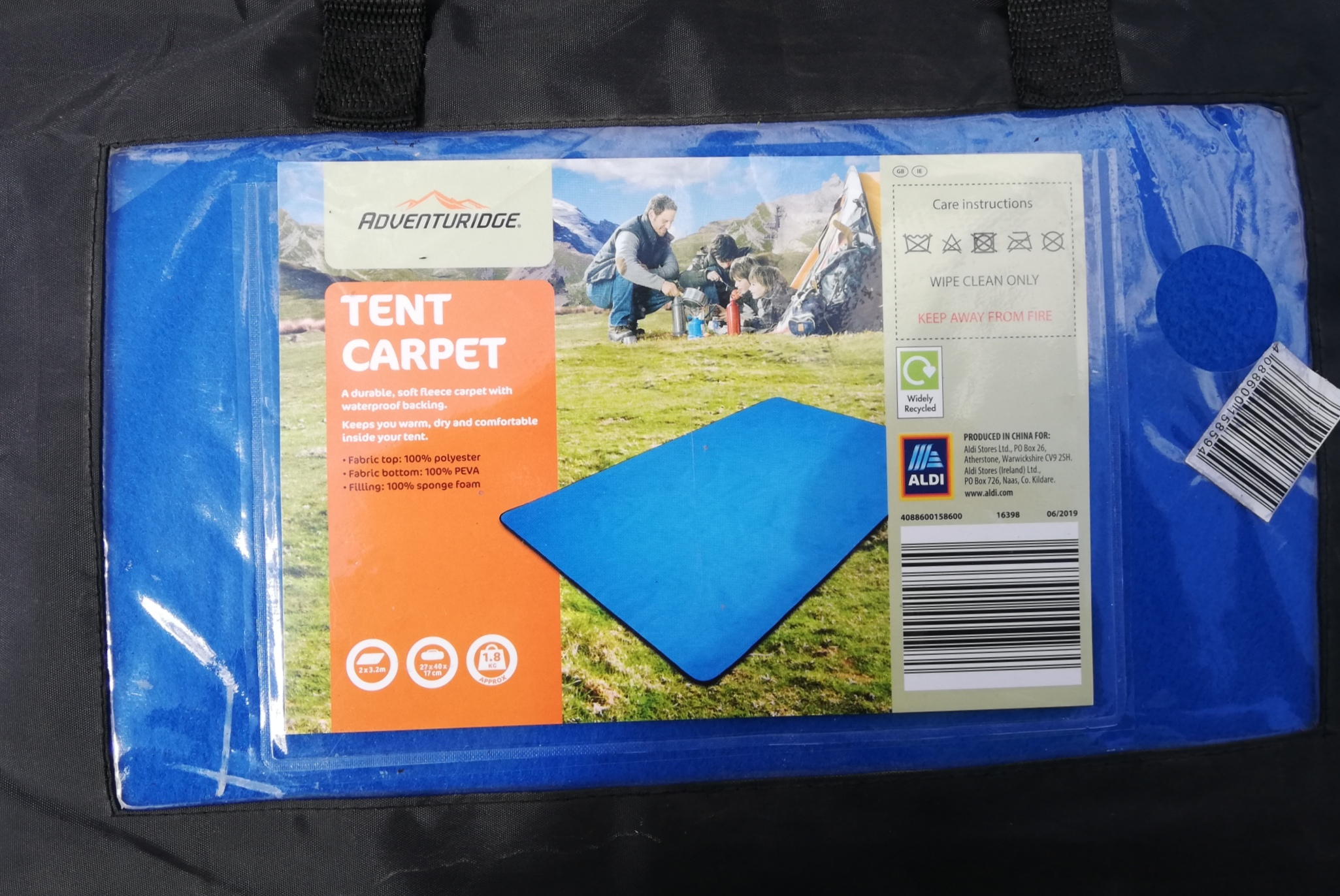 Tent carpet (only one left)