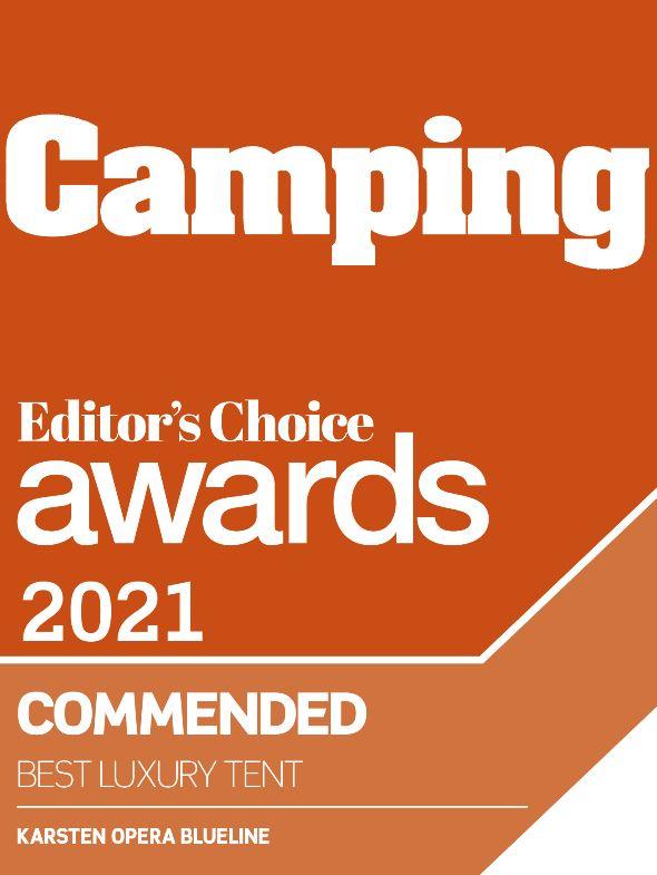 Camping Magazine Award Certificate