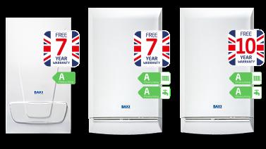 Domestic Gas Boiler 10 year warranty