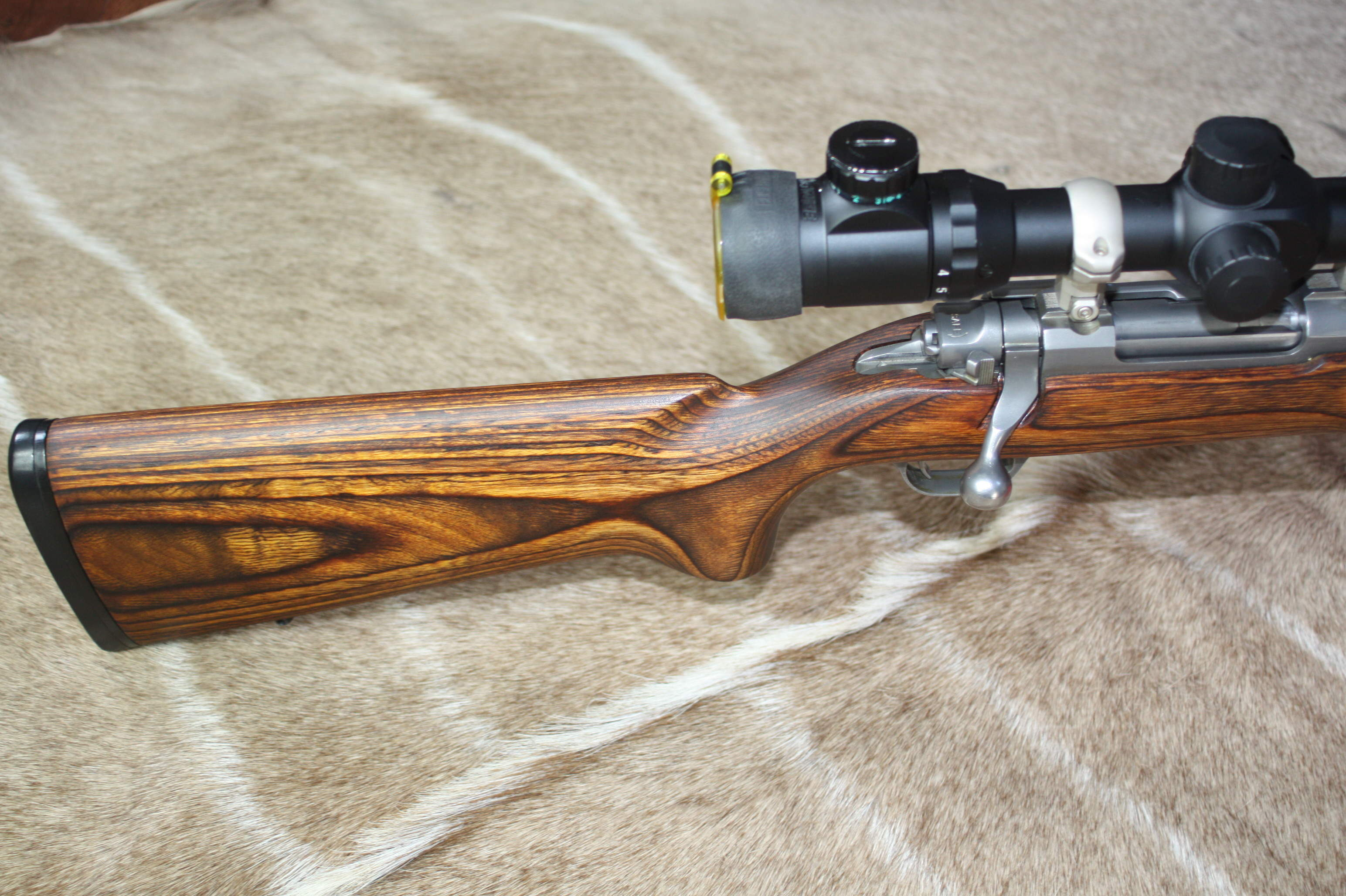 Ruger M77 .22-250 Bolt Action Rifle Shooting package