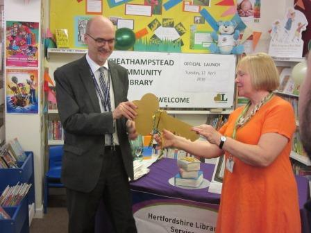 Launch of Wheathampstead Community Library