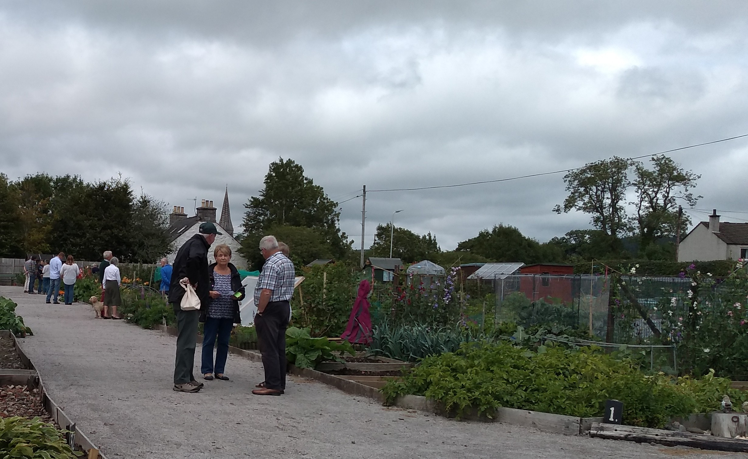 Dalbeattie Allotments Open Day 3jpg