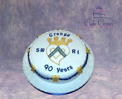 Rural Anniversary Cake