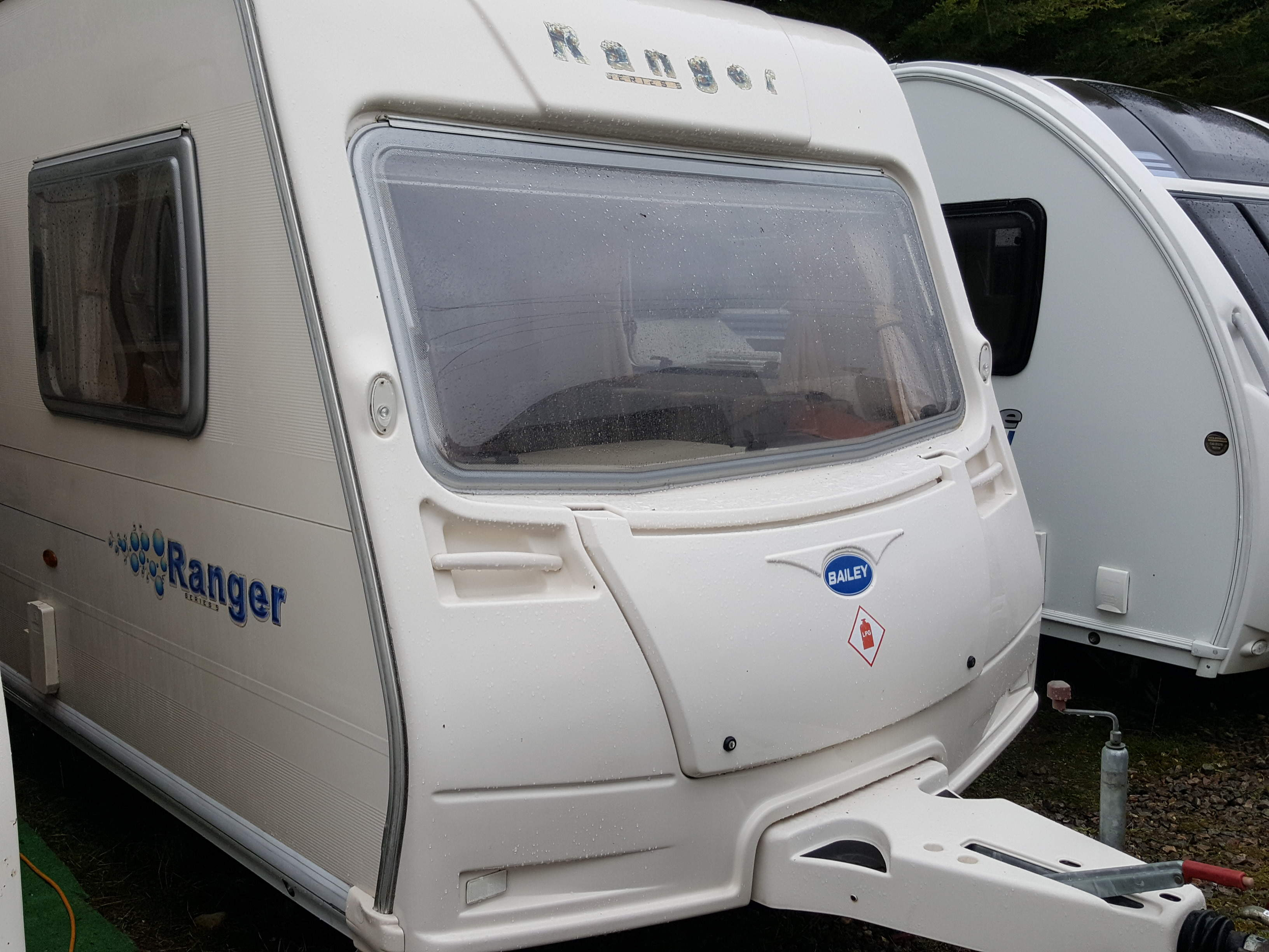 2006 Bailey Ranger 550 6 Berth Side Dinette Fixed End Bunks Caravan with Motor Mover