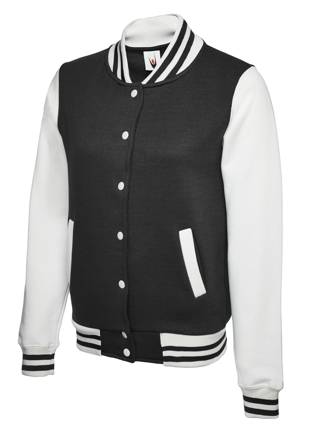 UNEEK UC526 LADIES VARSITY JACKET