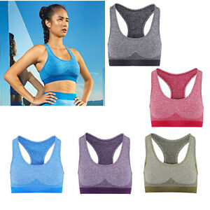 TRIDRI TR210 WOMEN'S SEAMLESS '3D FIT' MULTI-SPORT SCULPT BRA