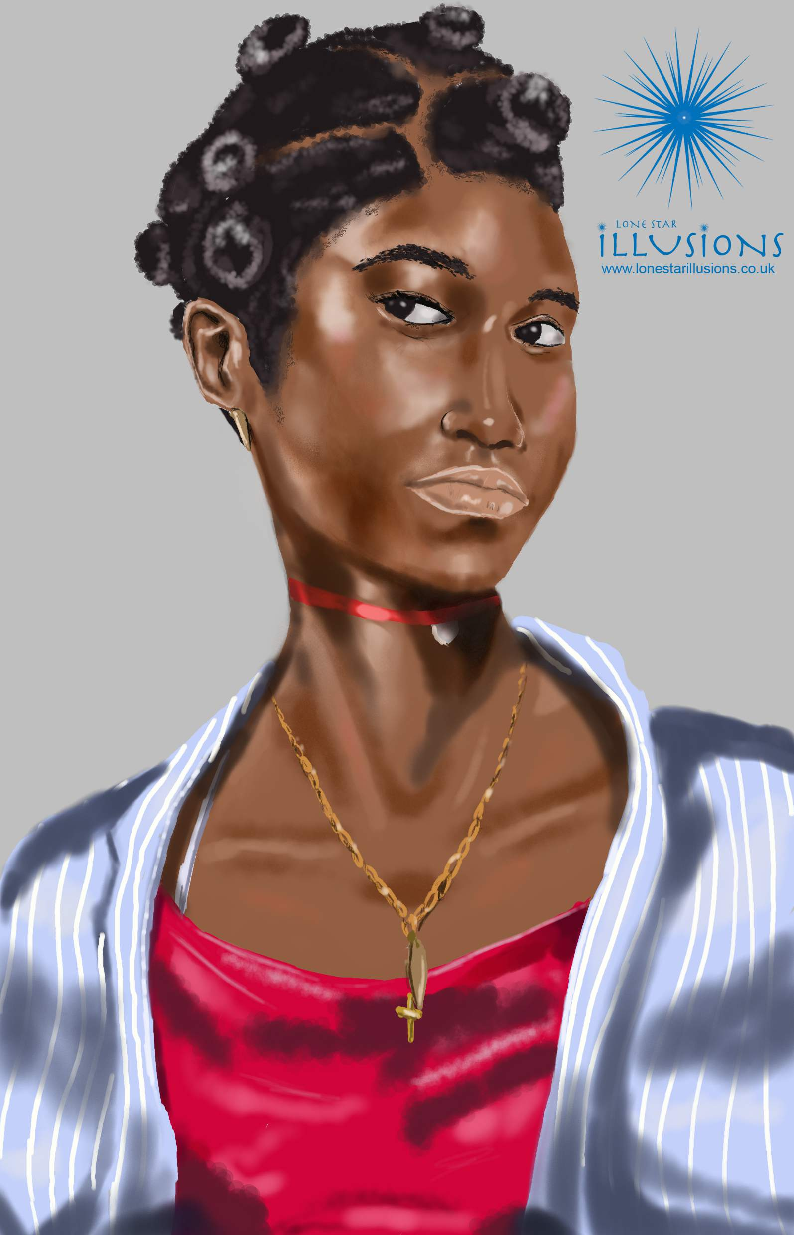 black female characters, graphic novel concepts, black digital art, black illustration, african illustration, concept art, woman with bantu knots, beautiful black women