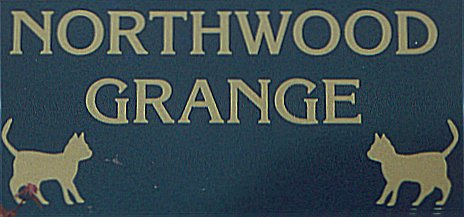 Northwood Grange Cattery Sign