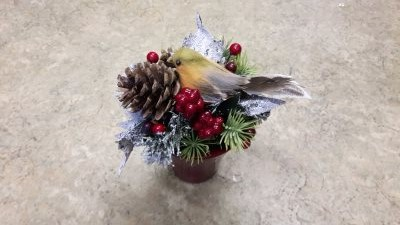 Bespoke Christmas flowers and decorations from Flowers for you Dalbeattie florists