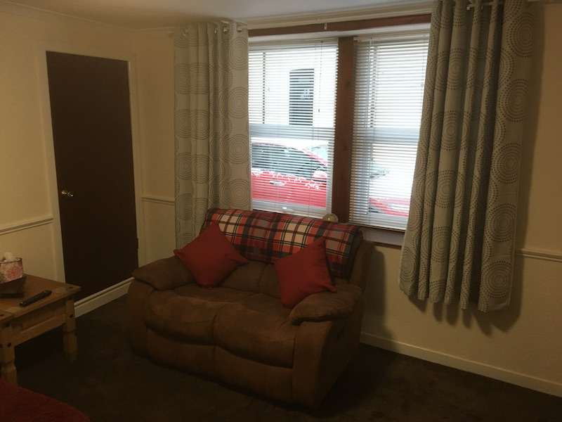 Annandale Cycles Moffat comfy holiday accommodation lounge