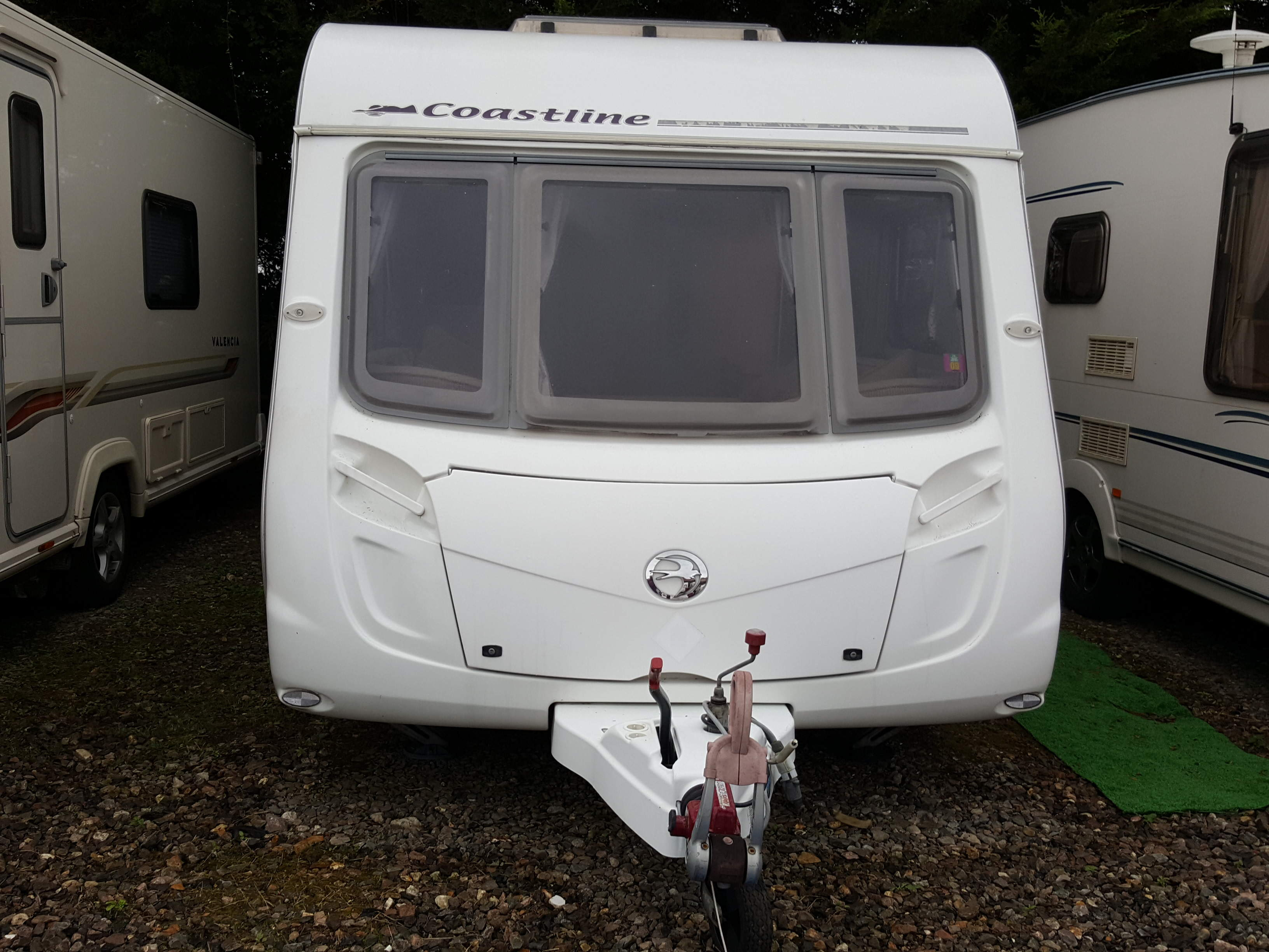 NOW SOLD SUPERB 2008 Swift Coastline 480 SE 2 Berth End Washroom Caravan with MOTOR MOVER
