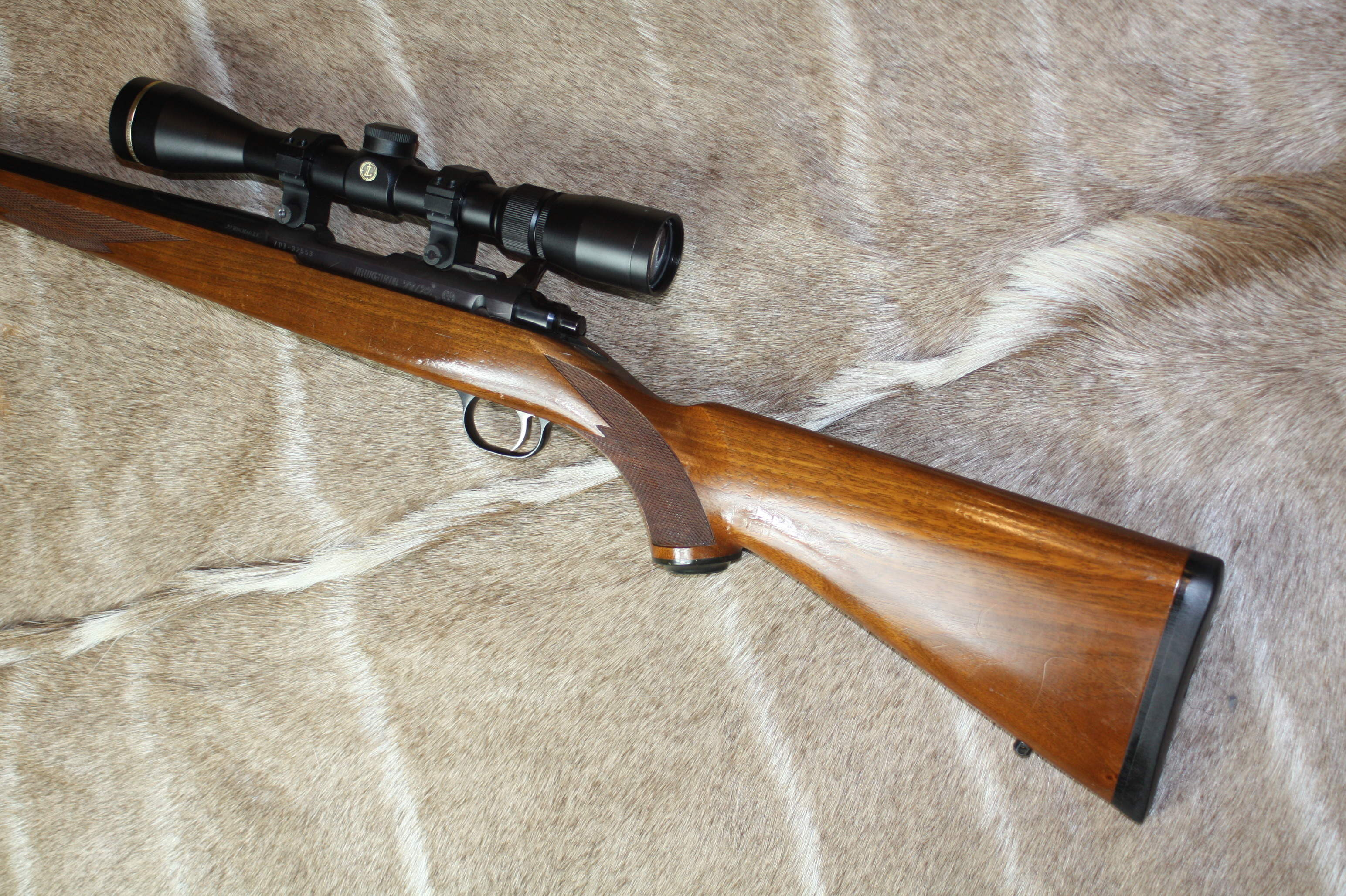 RUGER .22 WMR 'MODEL 77/22, Scope and Moderator