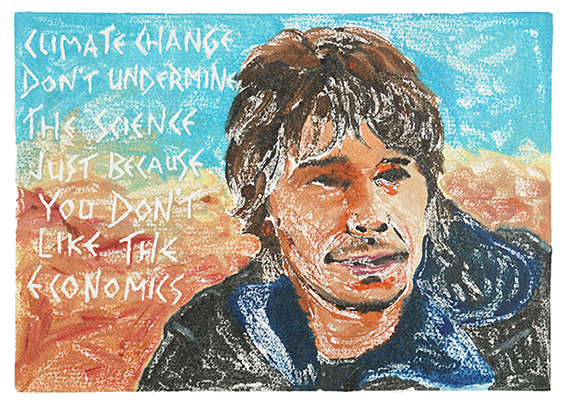 Brian Cox on Climate Change