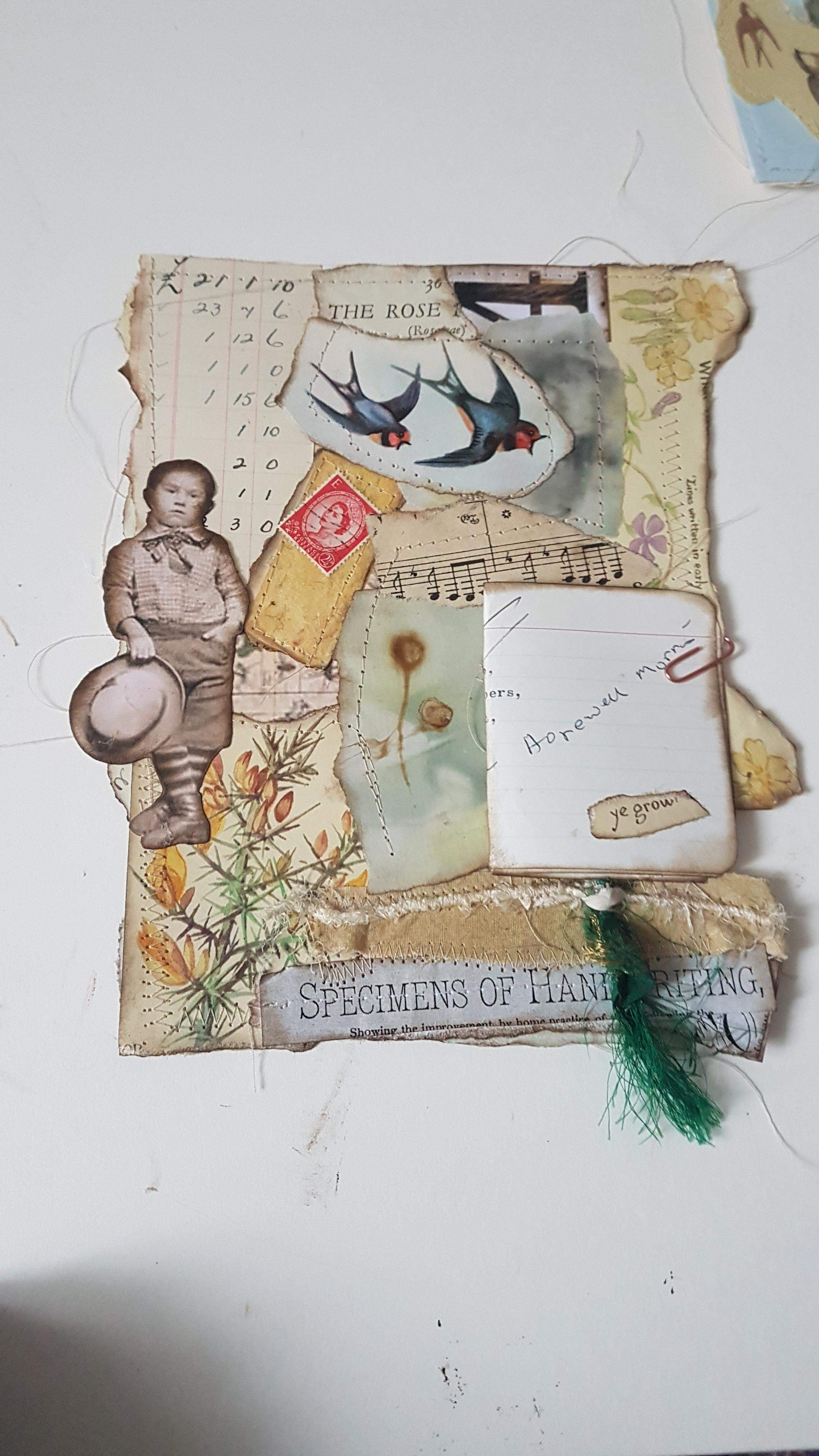 Raggity Gee Bookmark - All sold
