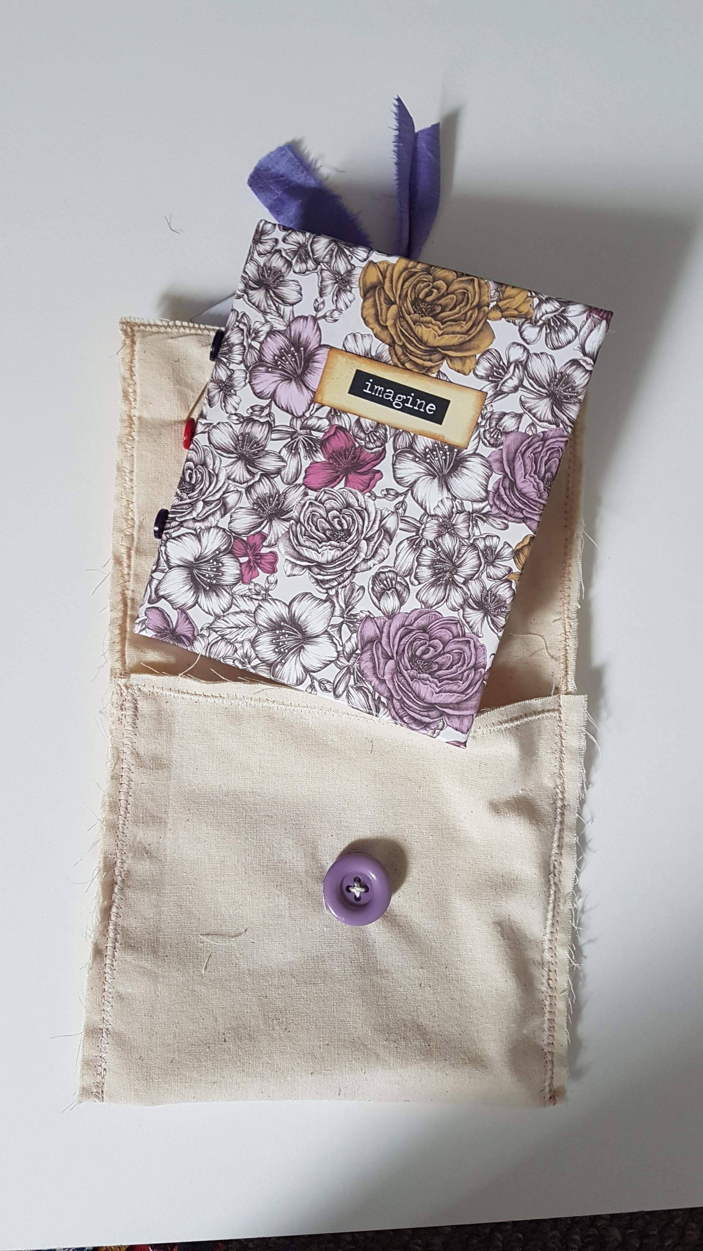 Journal and canvas bag  - All sold