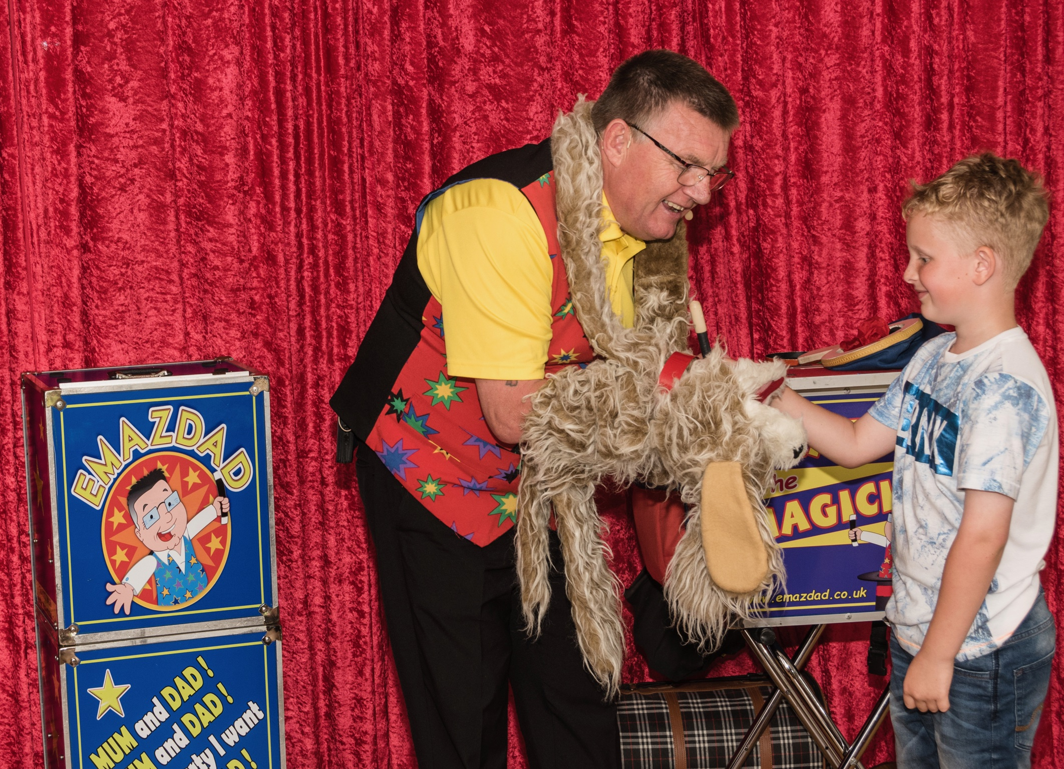Children's magic show Plymouth