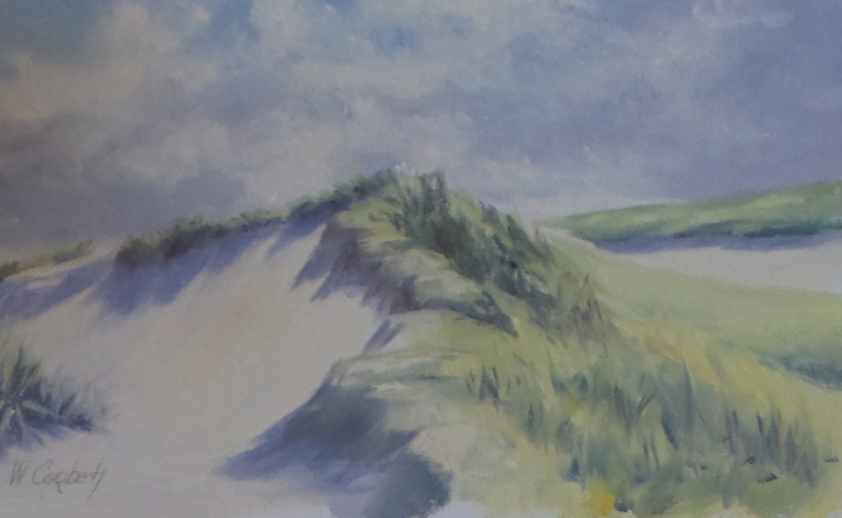 Sand Dune, oil study