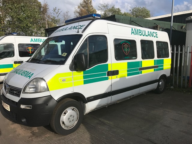 PTS ambulance