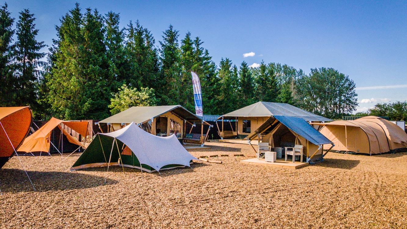 Camping Tent Display