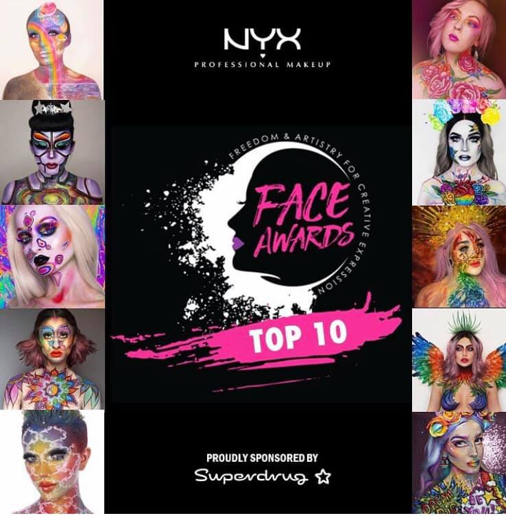 NYX Professional Makeup Face Awards 2019 Top 10!