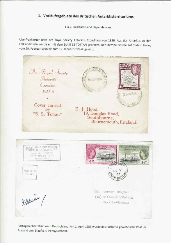 The British Antarctic Territory 1962 1980