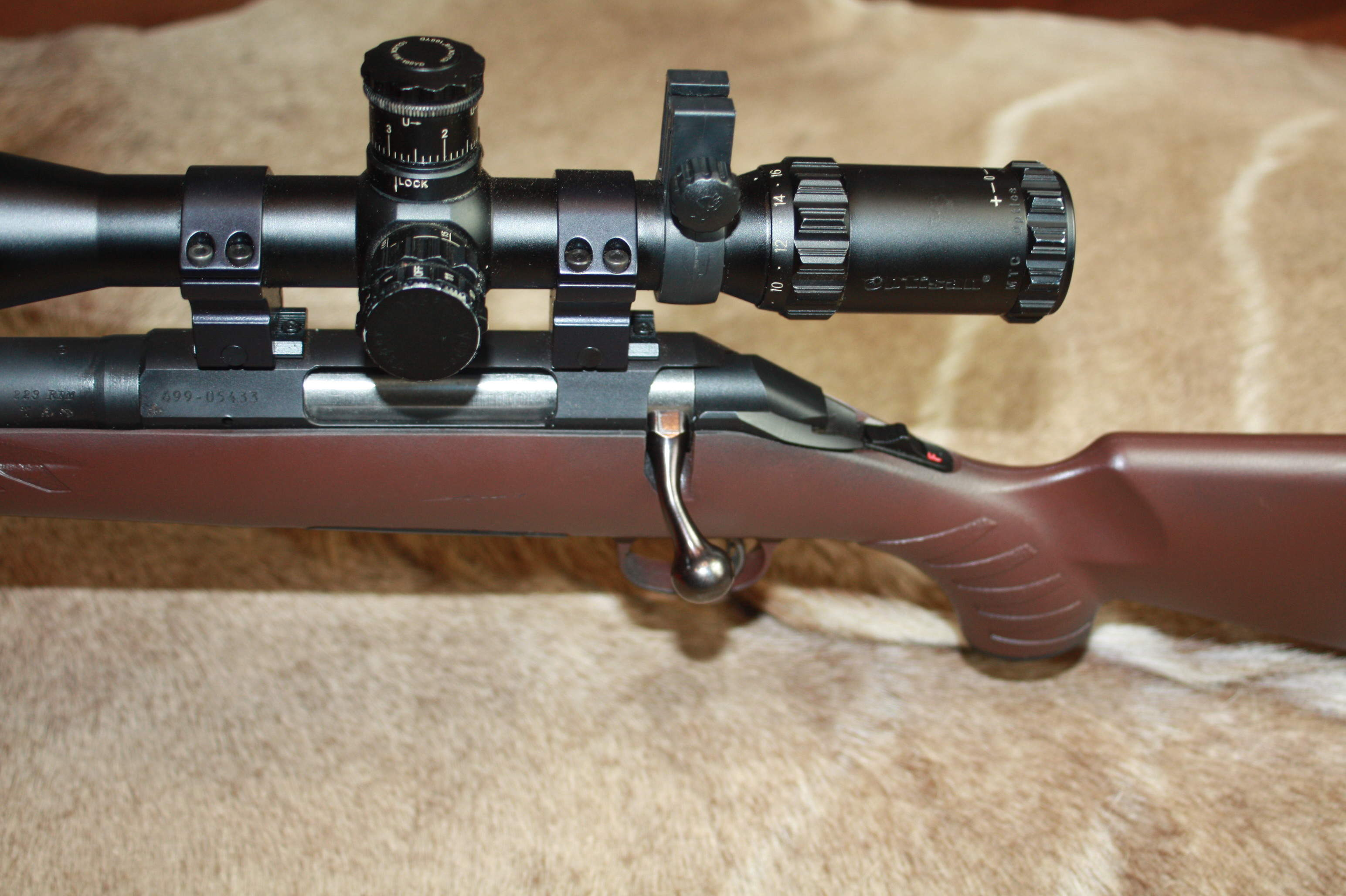 Ruger American. 223 Left Hand Bolt Action rifle
