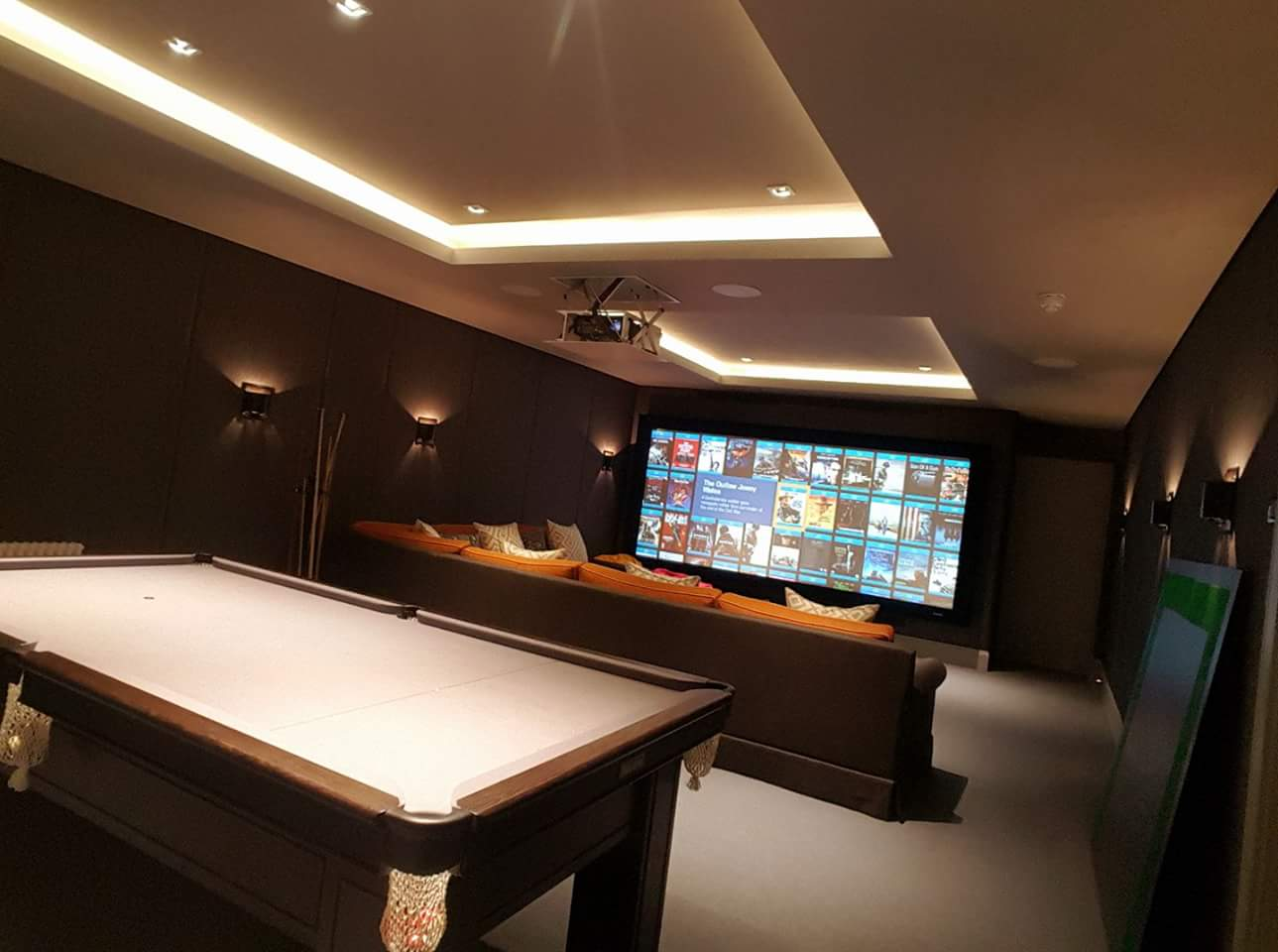 Games Room Cinema System