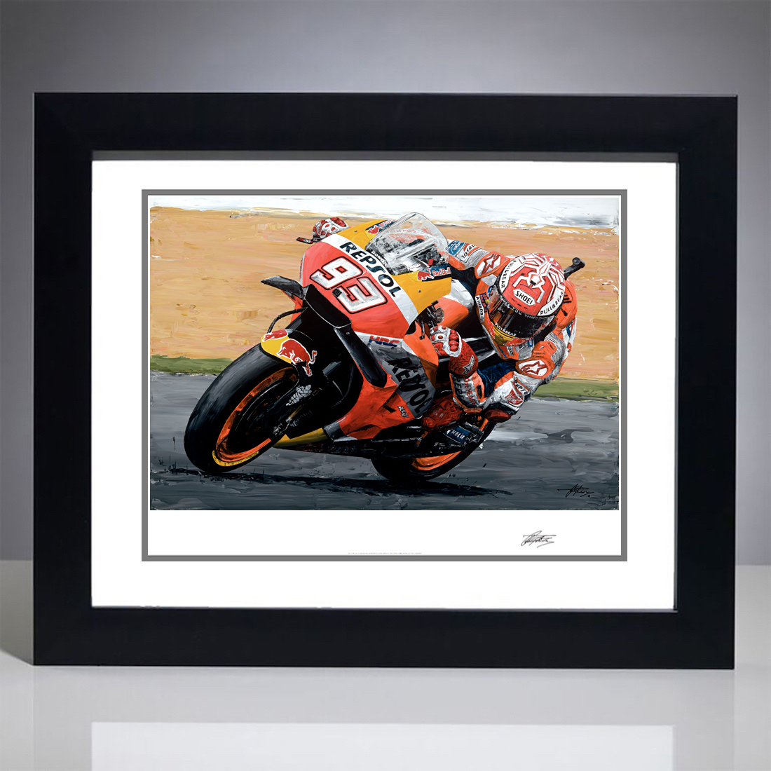 Marc Marquez 2018 Moto GP World Champion Giclee