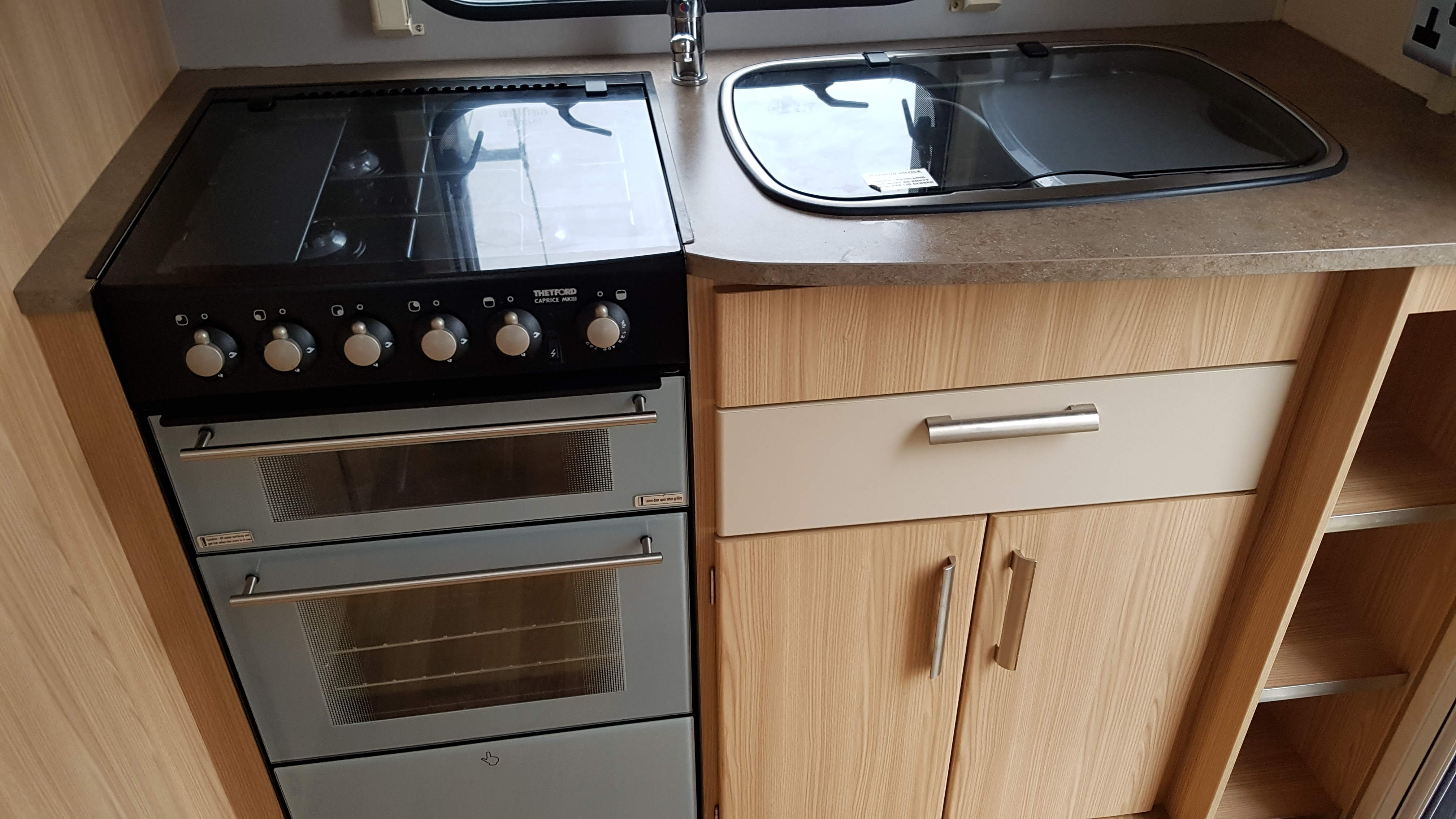 NOW SOLD 2011 Coachman Amara 380 2 Berth End Kitchen Lightweight Caravan with Motor Mover
