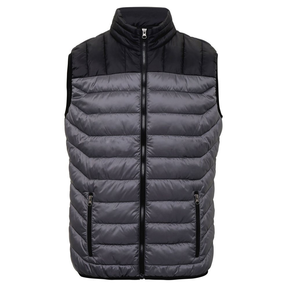 TS2786 DOMAIN TS028 TWO TONE GILET
