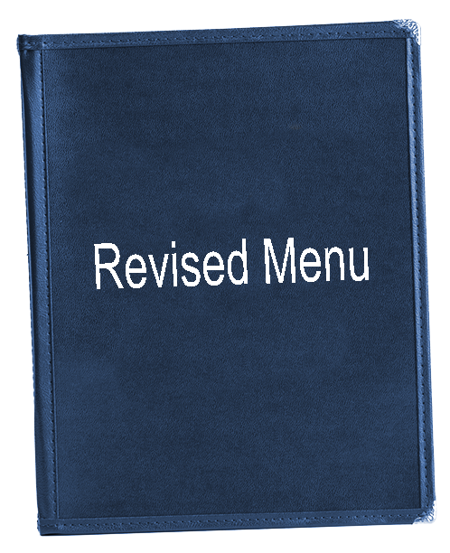 Revised Menu