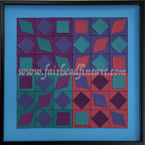 Victor Vasarely Sunkep