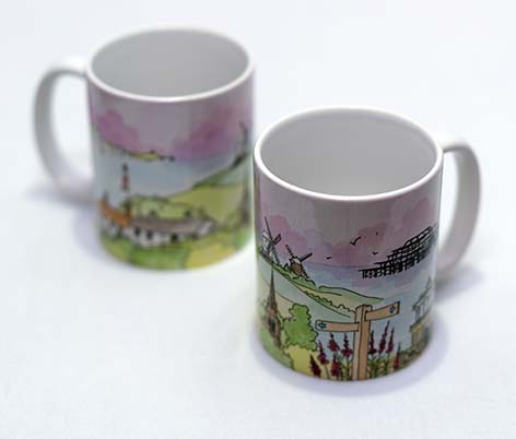 Downs to the Sea Mug
