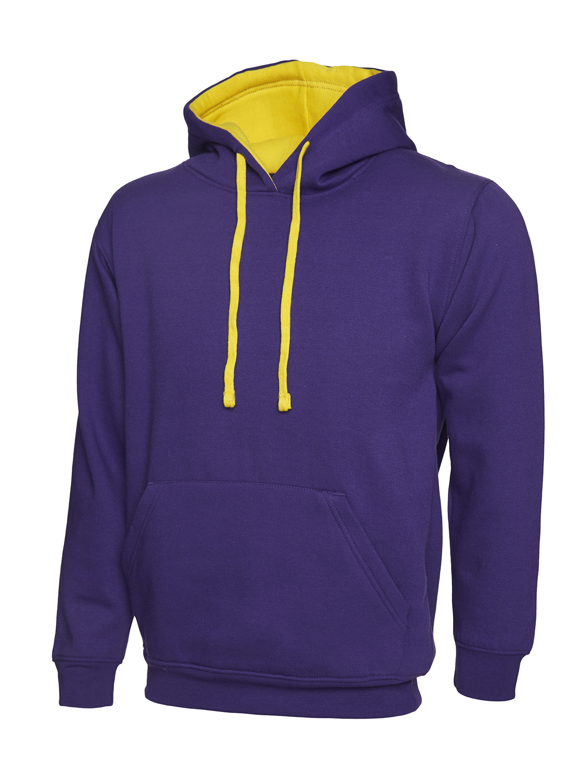 UNEEK UC507 CONTRAST HOODED SWEATSHIRT