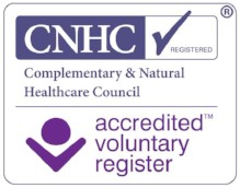 Registered with the Complementary and Natural Healthcare Council for Hypnotherapy