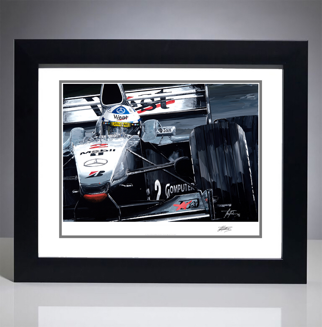 David Coulthard 2000 McLaren MP4/15 Giclee