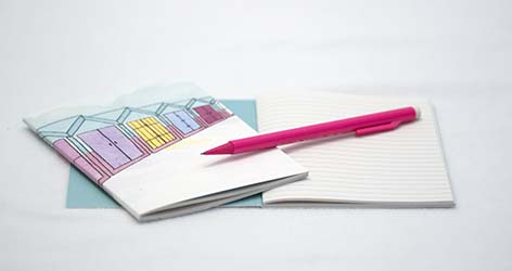 Beach Huts Notebook