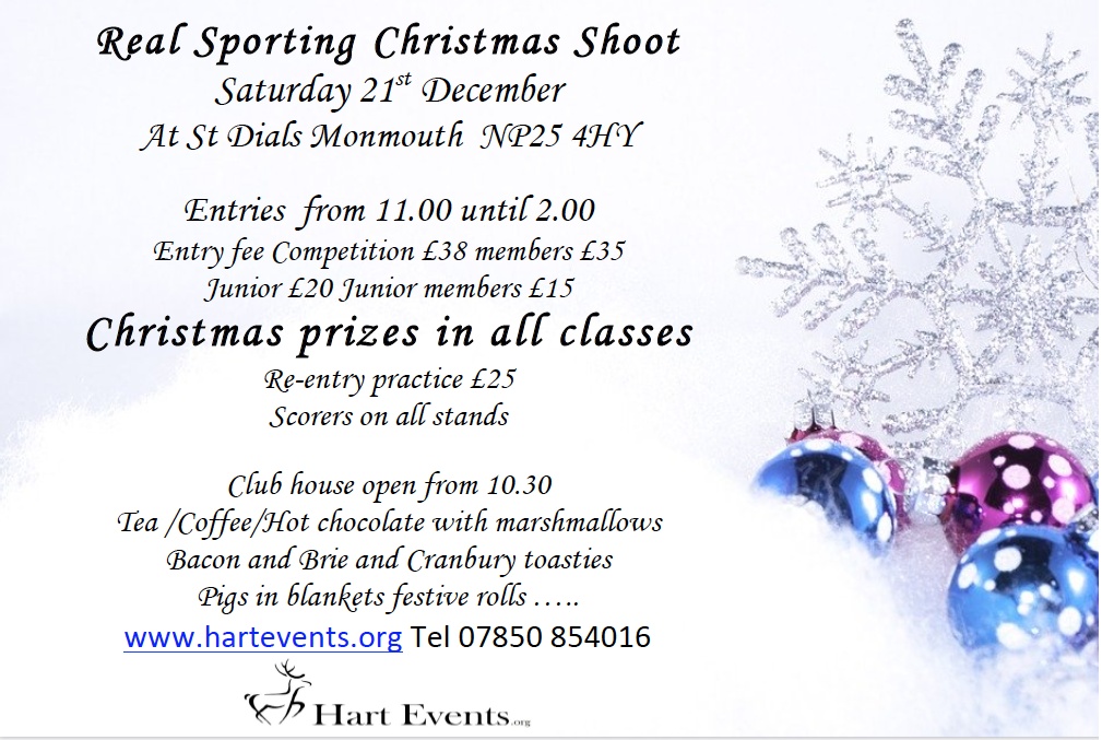Christmas clay shoot