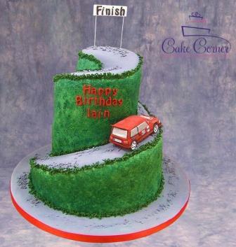 Road Racing Cake