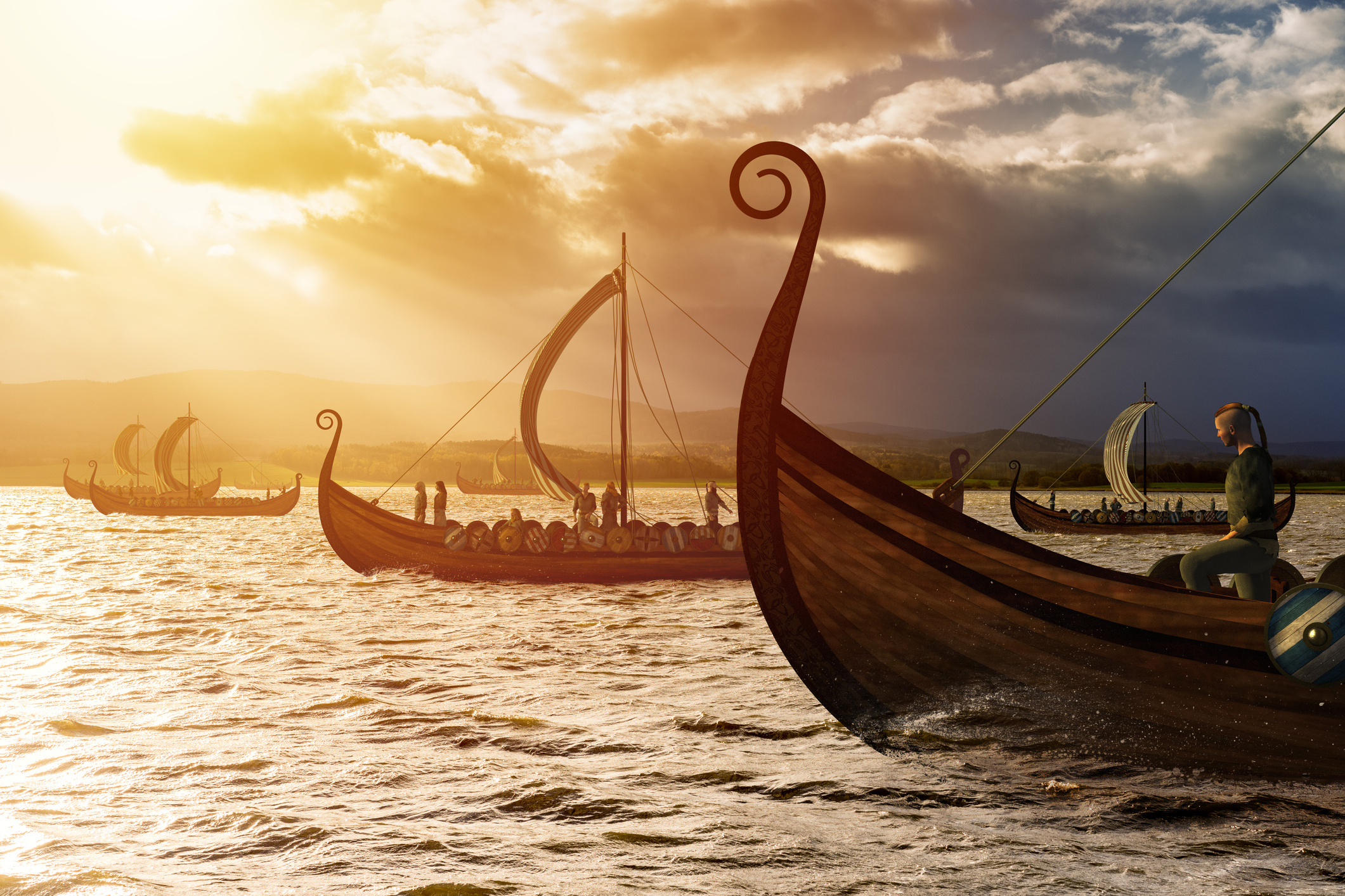 viking-ships-on-the-water-under-the-sunlight-and-dark-stormjpg