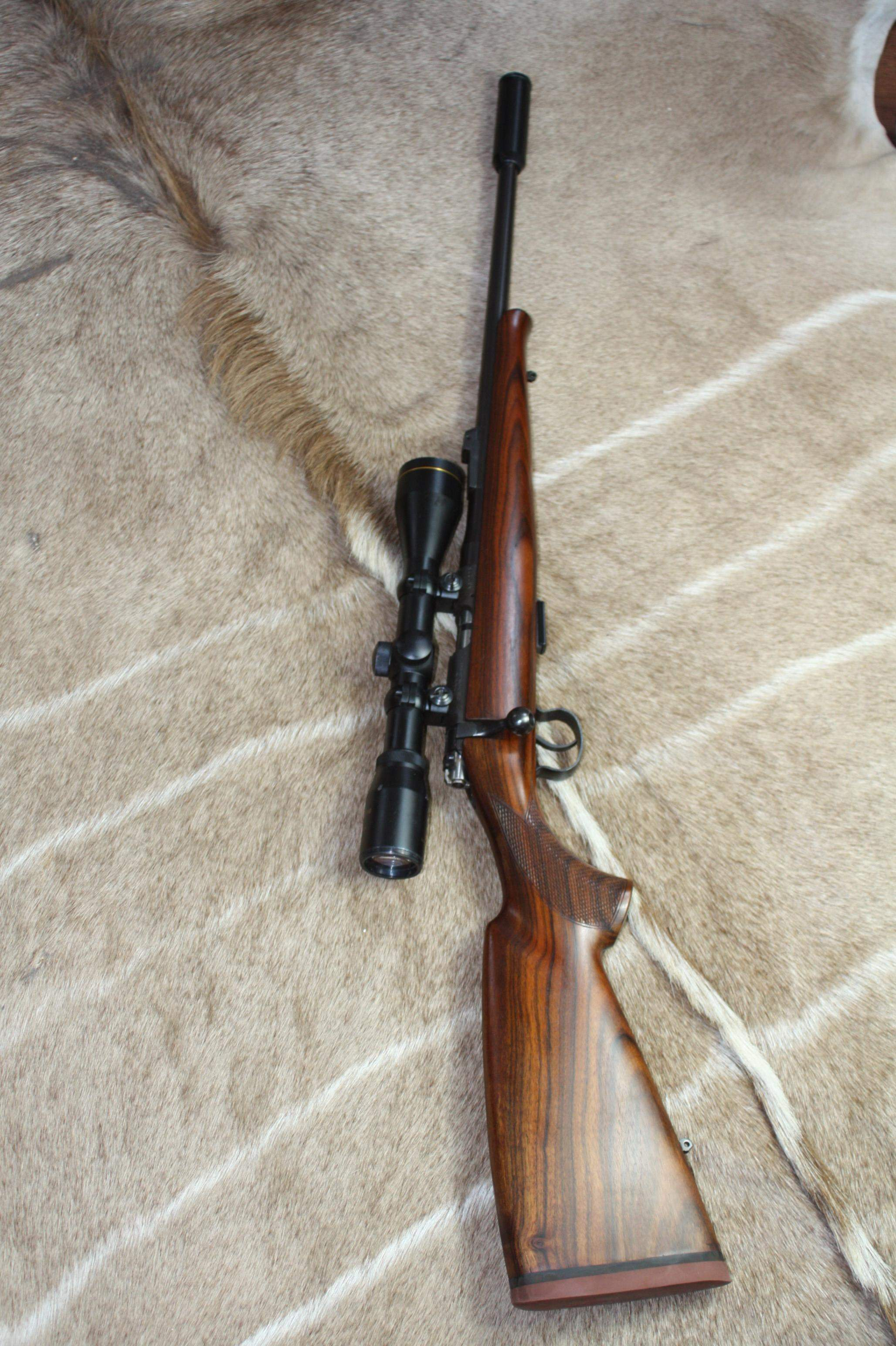 BRNO CZ .22 LR Bolt action package, Scope and Moderator