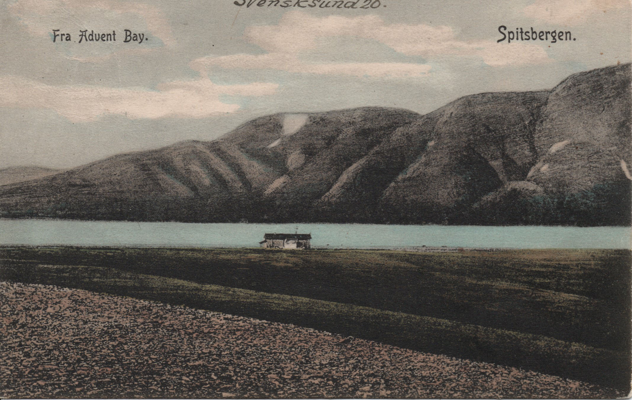 Advent Bay Spitzbergen Spitsbergen Svalbard 1908