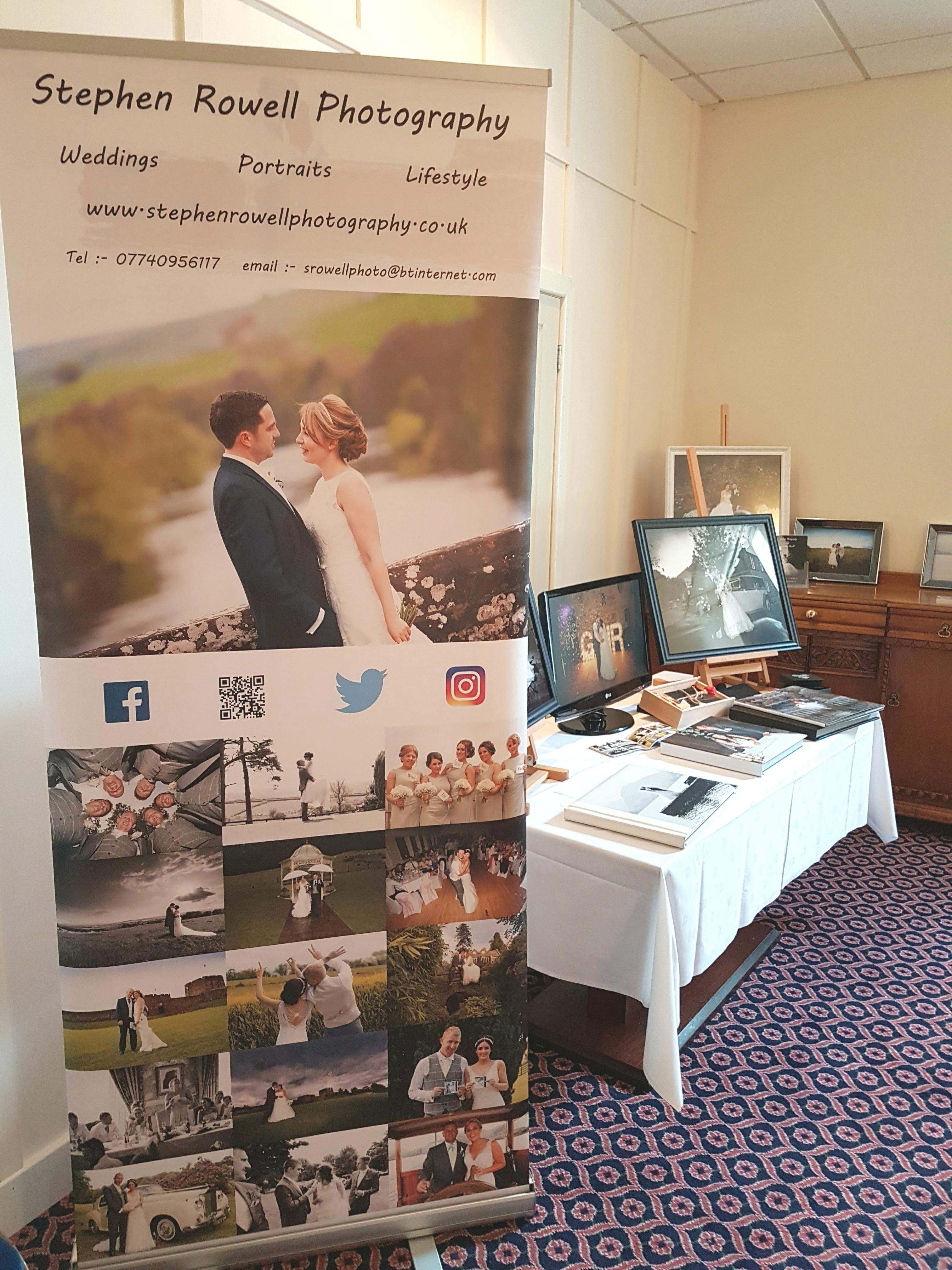 Stephen Rowell Photography exhibited at the recent open day held at Annan's Powfoot Hotel