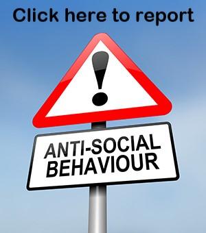 Report anti social behaviour