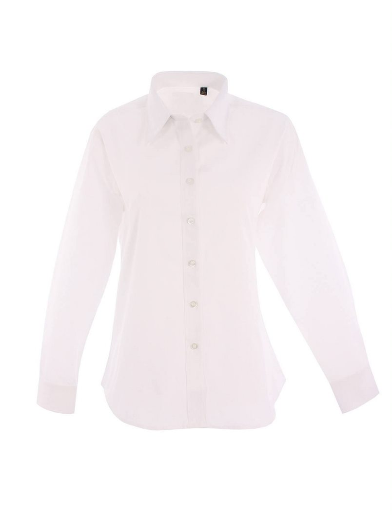 UNEEK UC703 WOMEN'S PINPOINT OXFORD SHIRT