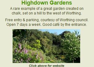 Link to Highdown Gardens website