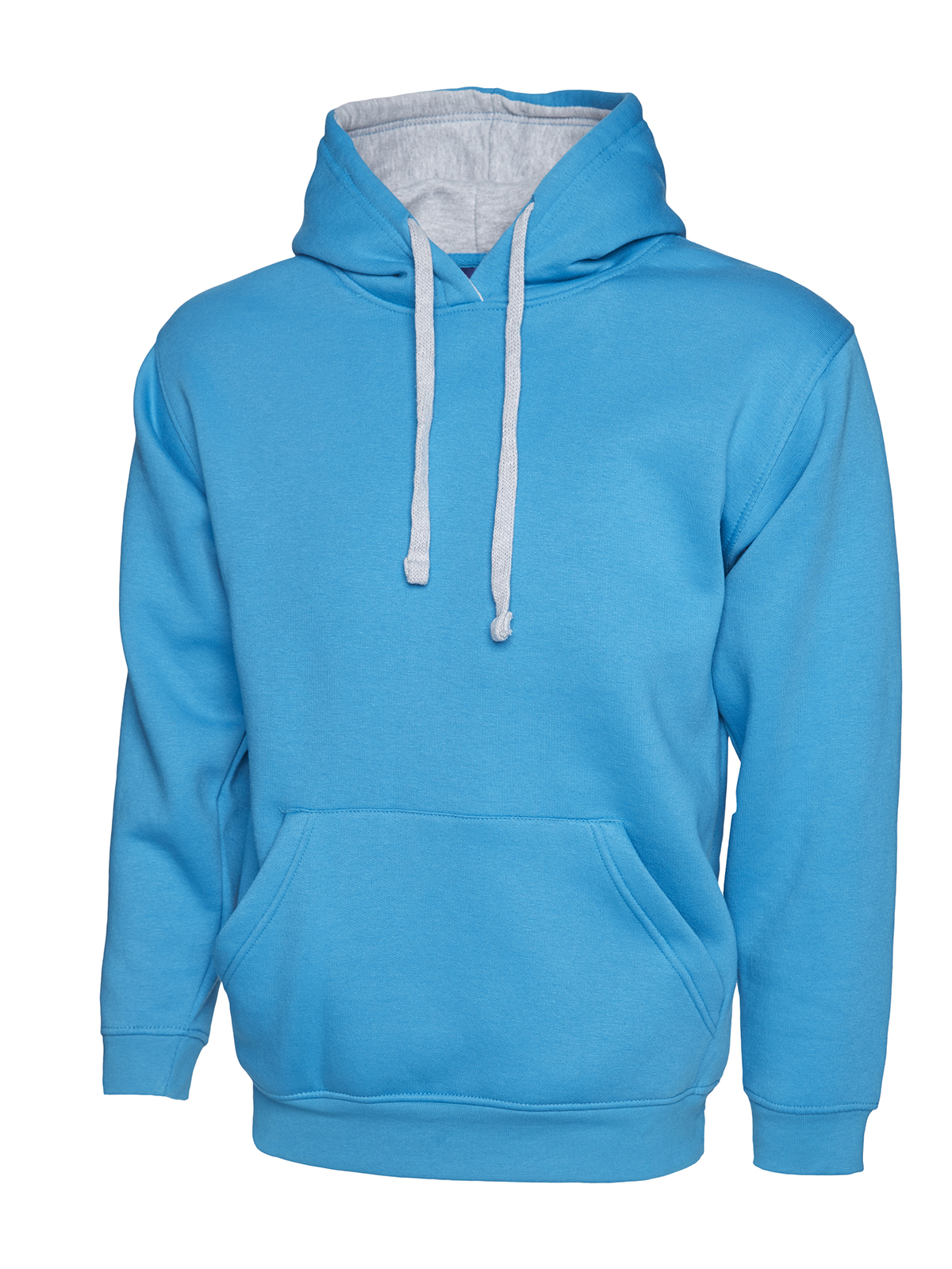 Uneek UC507 Contrast Hooded Sweatshirt C