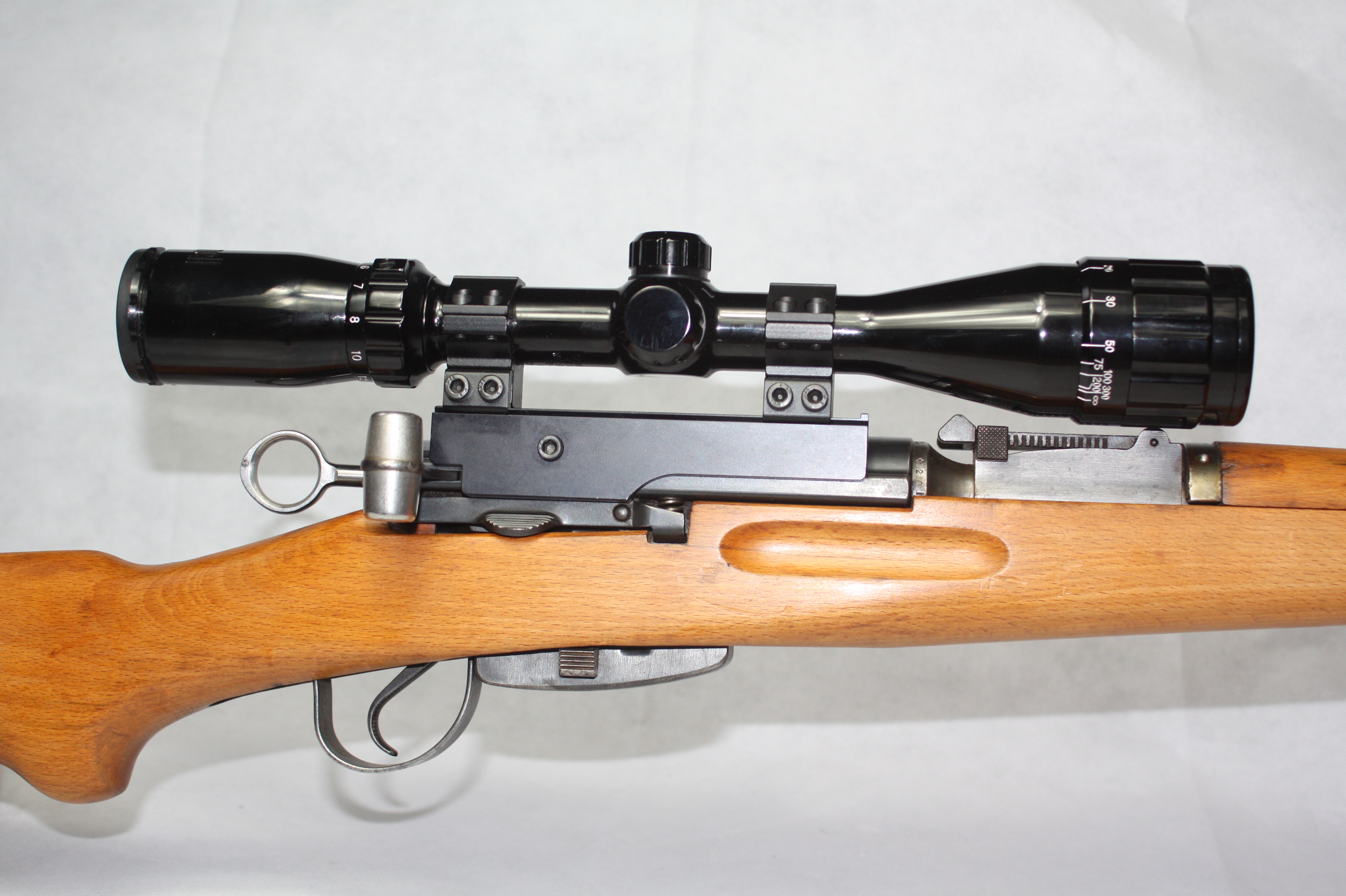 SWISS 7.5X55mm 'SCHMIDT RUBIN' STRAIGHT Pull K31 SERVICE RIFLE with scope