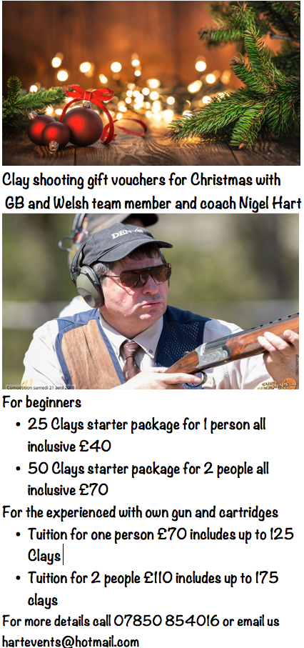 clays shooting tuition monmouth